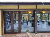 Загородное остекление пластиковыми окнами