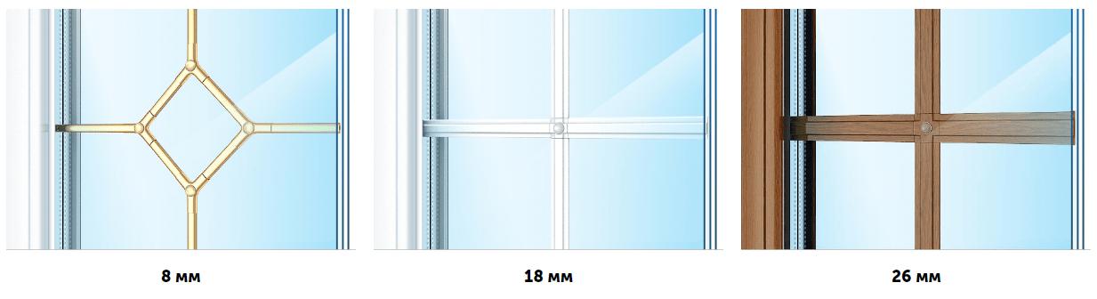 Декоративная раскладка на стеклах