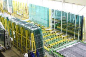 Производство стеклопакета