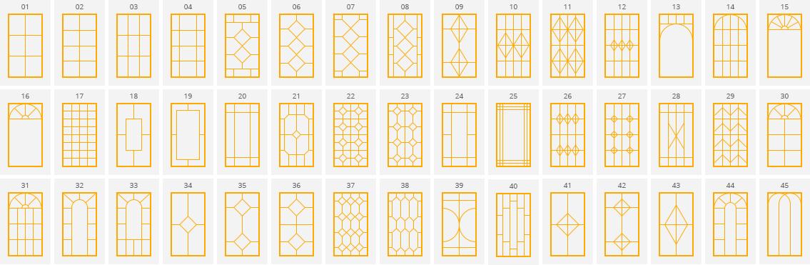 Фальш-переплеты на пластиковых окнах