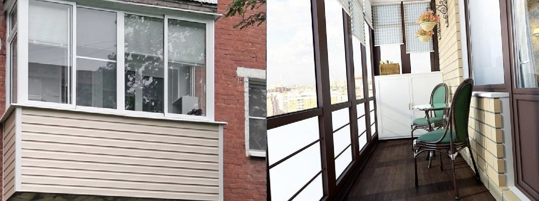 Отделка балконов и лоджий в Митино