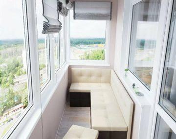 Отделка балконов стандарт
