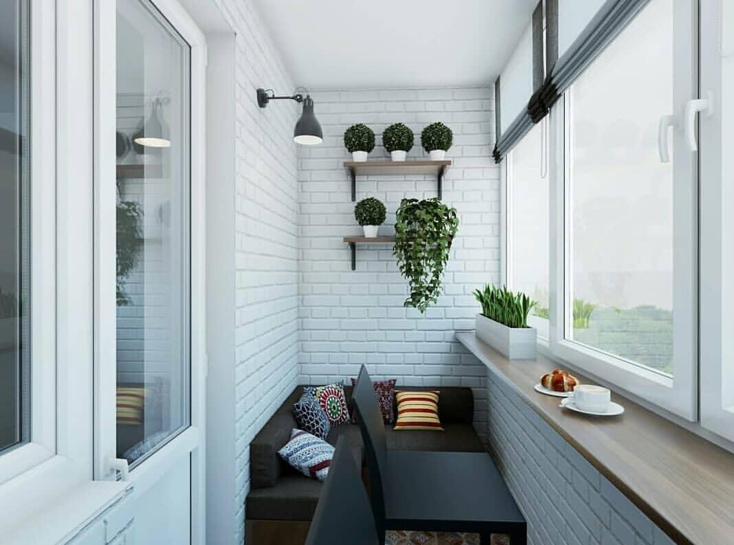Заказать теплое остекление балконов Rehau
