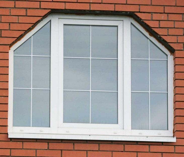 Трапециевидные окна