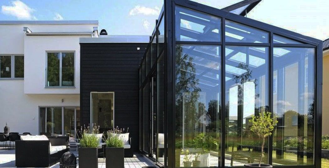 Холодное алюминиевое остекление домов