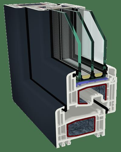 Профиль для окон GEALAN S8000