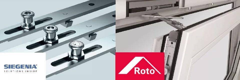 Сравнение фурнитуры Siegenia и Roto