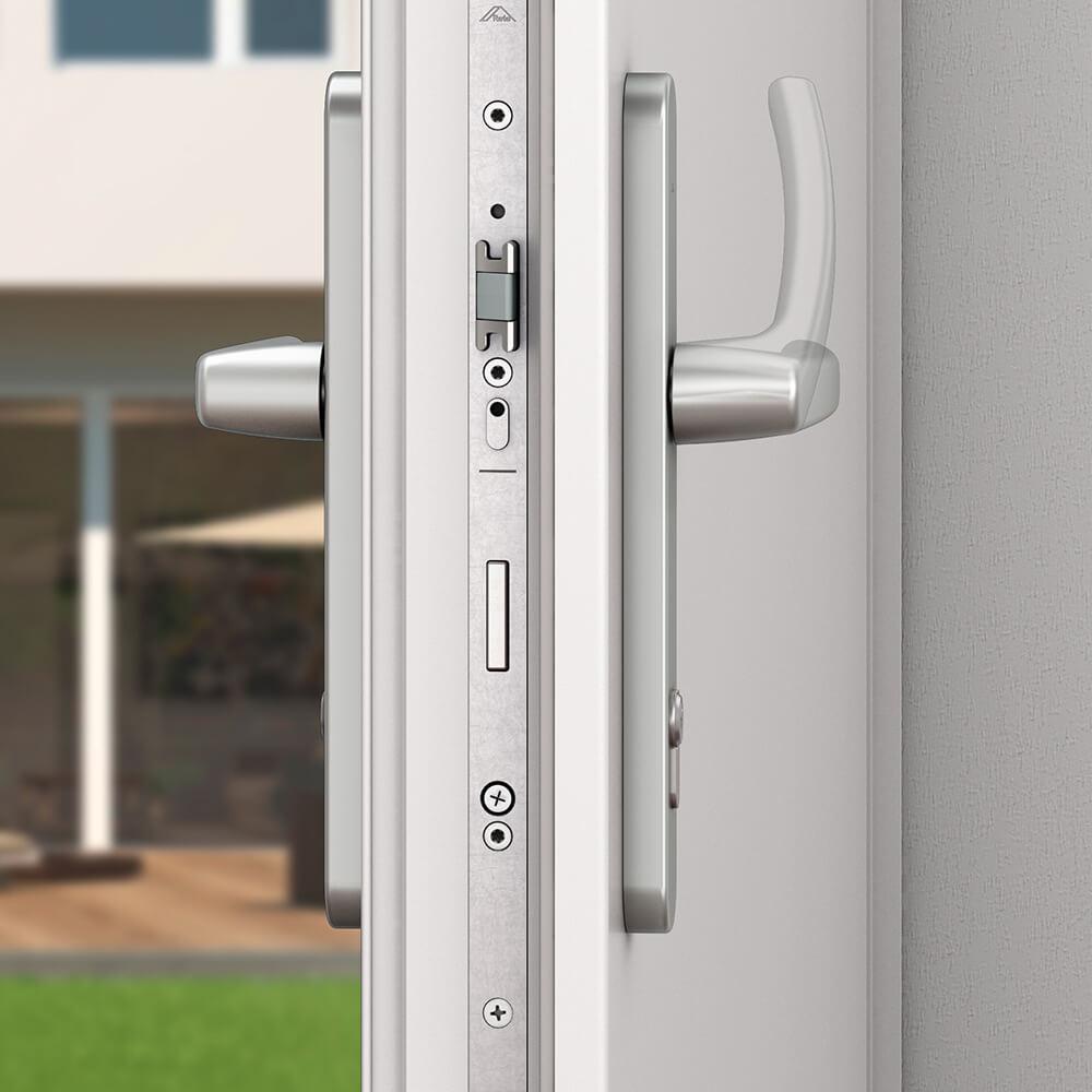 Балконная дверь rehau регулировка