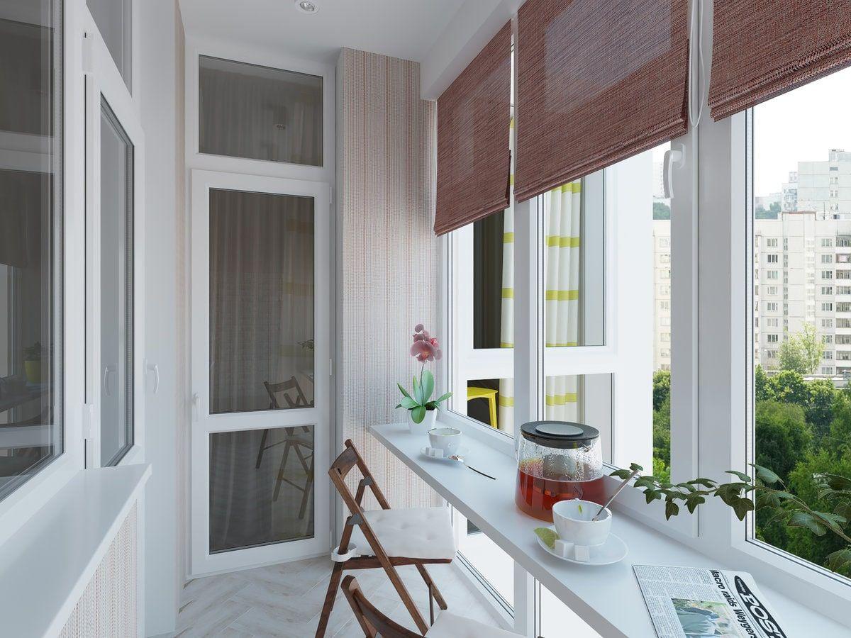 Остекление балконов Rehau в Красногорске