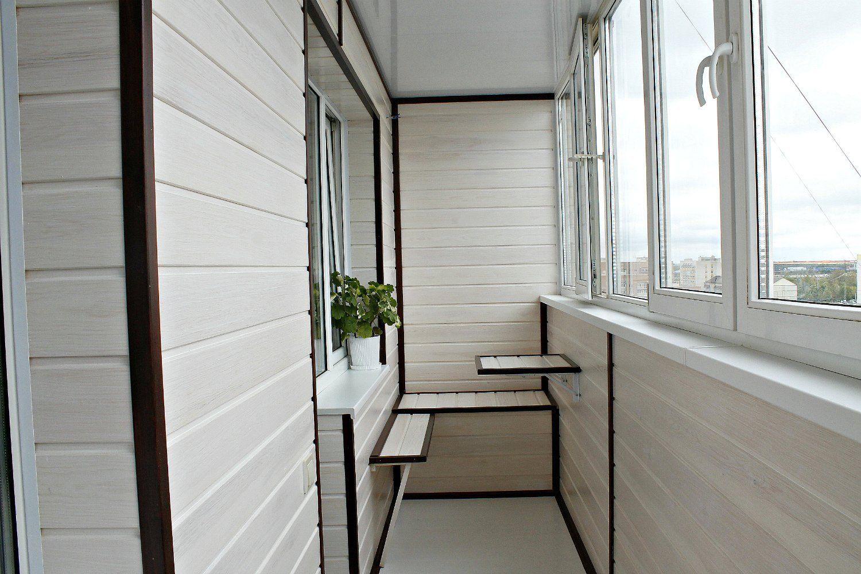 Отделка балконов в сериях домов