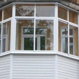 Эркерный балкон в сталинском доме