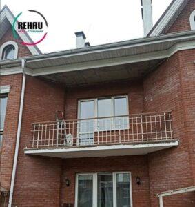 Остекление балконного блока
