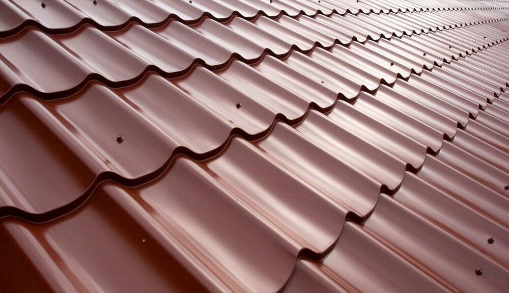 Металлочерепица для крыши на балкон