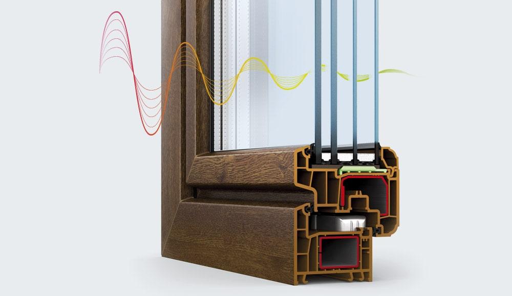 Звукоизоляционное окно
