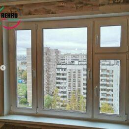 Новые пластиковые окна Рехау