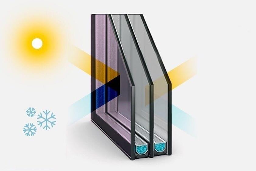Солнцезащитный стеклопакет