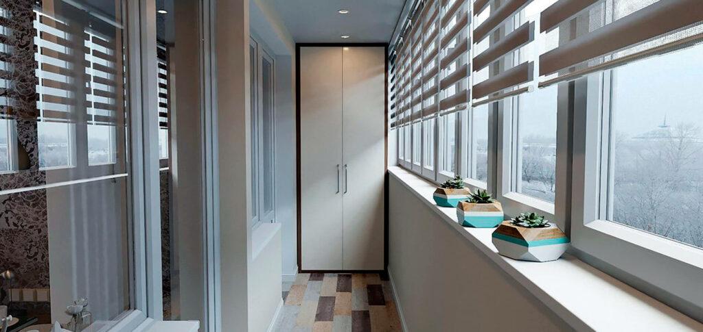 Балкон 9 кв м