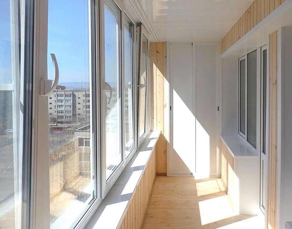 Интерьер балкона 9 кв м