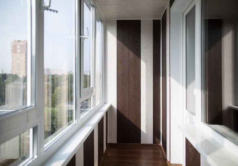 Интерьер балкона 10 кв м