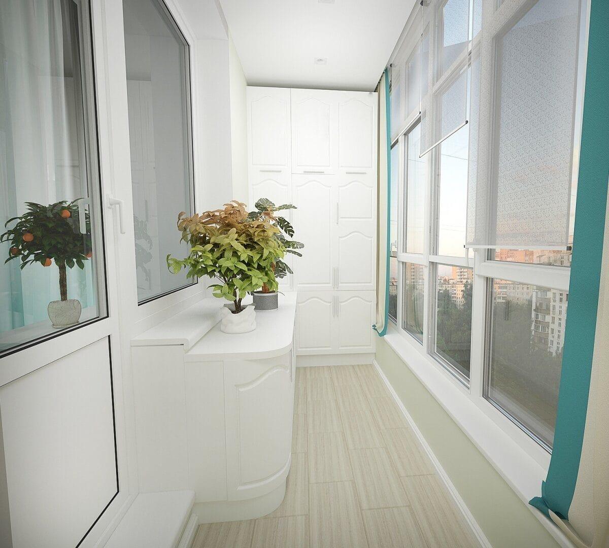 Балкон 10 кв м