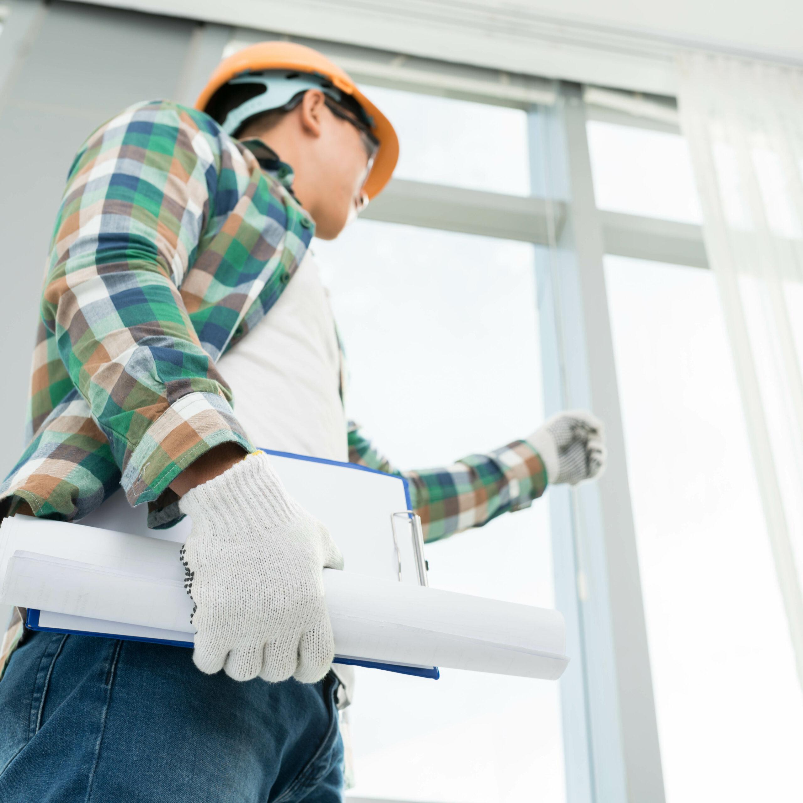 Проверить окна от застройщика