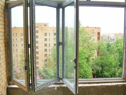 окно гармошка для балкона