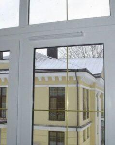 Приточный клапан на окно пвх