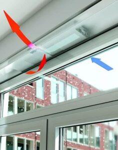 Приточный вентиляционный клапан на пвх окна