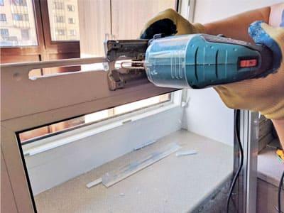 Установка проточного клапана с фрезеровкой