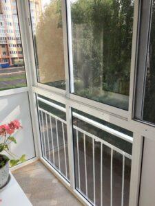 Раздвижное окно на балкон