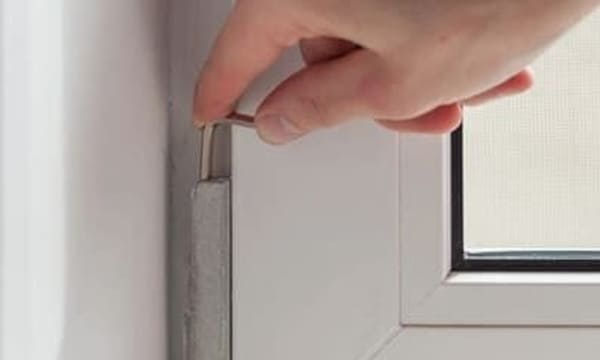 Регулировка створки окна пвх
