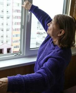 Окна из пластика для пенсионеров